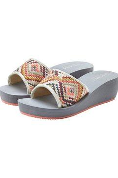 lascana slippers grijs