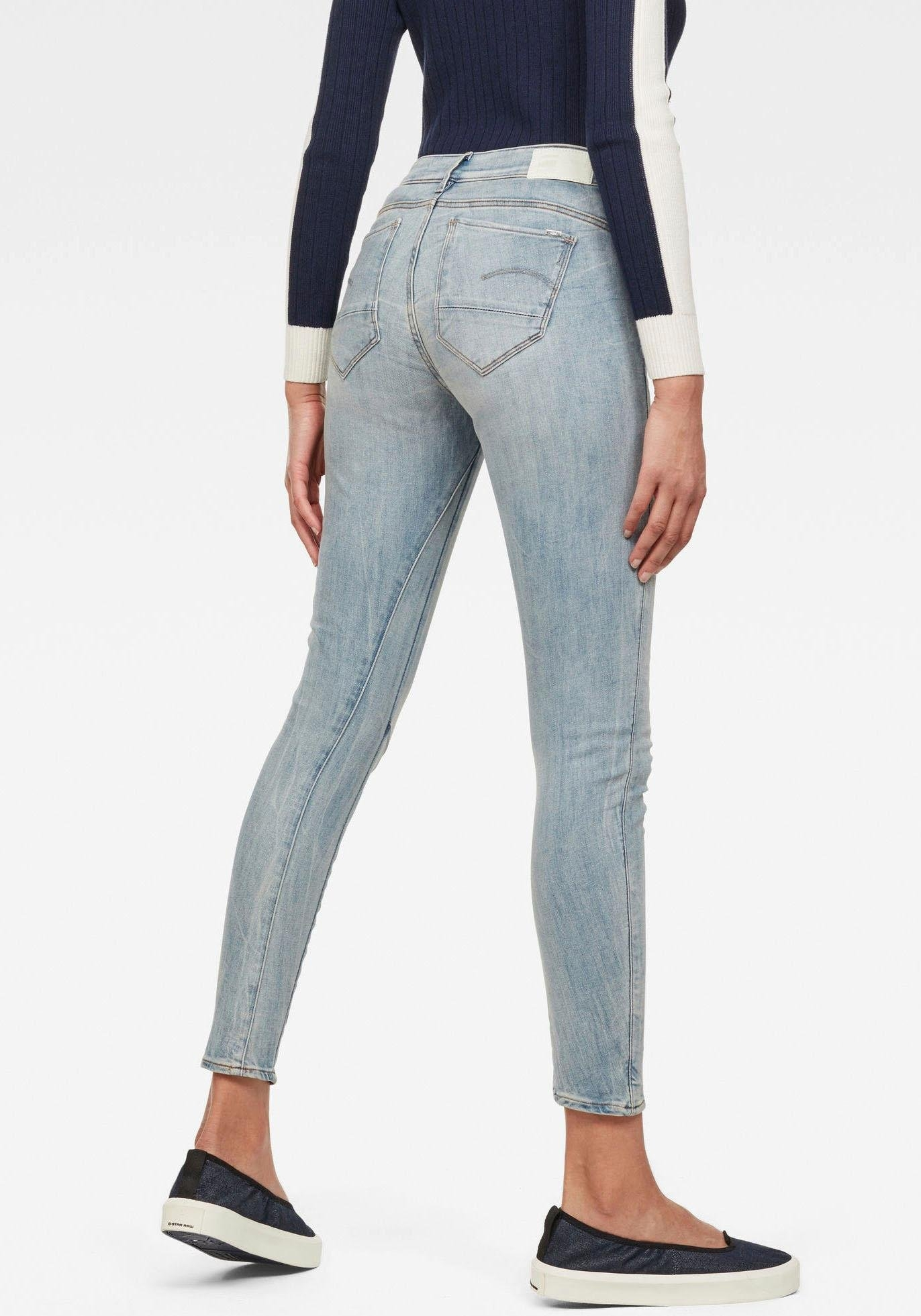 Op zoek naar een G-star Raw skinny fit jeans »Arc 3D Mid Skinny«? Koop online bij OTTO