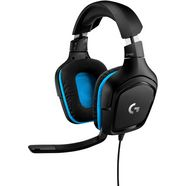 logitech games »g432 - leatherette - emea« gaming-headset (externe microfoon) zwart