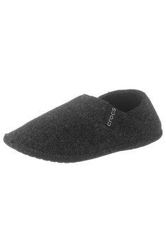 crocs pantoffels »classic convertible slipper« zwart