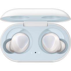 samsung »galaxy buds sm-r170« wireless in-ear-hoofdtelefoon (bluetooth, ingebouwde microfoon) wit