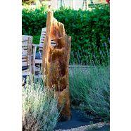 dobar fontein bxdxh: ca. 34x30x124,5 cm bruin