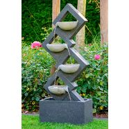 dobar fontein bxdxh: ca. 41,5x20,5x100,5 cm grijs