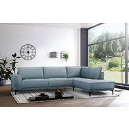places of style hoekbank »oland« blauw