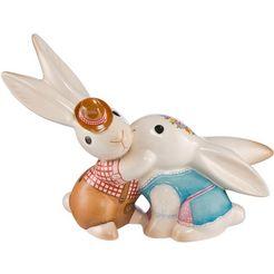 goebel verzamelfiguur »bavarian bunny in love iii« (per stuk) multicolor
