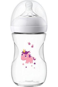 philips avent babyfles natural fles scf070-25 antikrampjessysteem wit