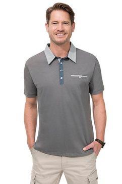 marco donati shirt met korte mouwen zilver