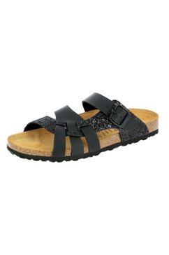 lico slippers »pantolette bioline gleam« zwart