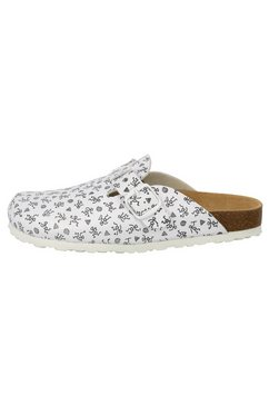 lico slippers »bioline clog« wit