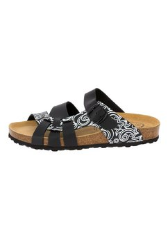 lico slippers - muiltjes - zwart »bioline lady soft« zwart