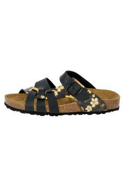 lico slipper »bioline flora« zwart