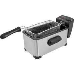 exquisit »fr 3101 isw« friteuse zilver
