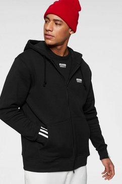 adidas originals capuchonsweatvest »vocal full zip hoody« zwart
