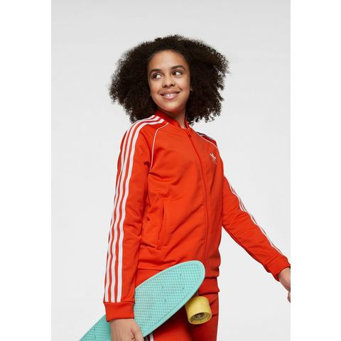NU 20% KORTING: adidas Originals trainingsjack SUPERSTAR TOP