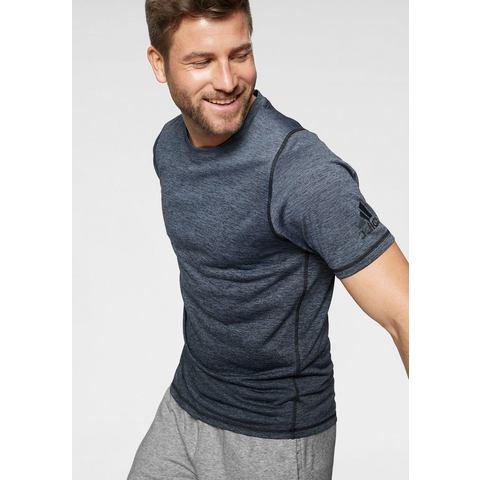 adidas performance sport T-shirt donkerblauw