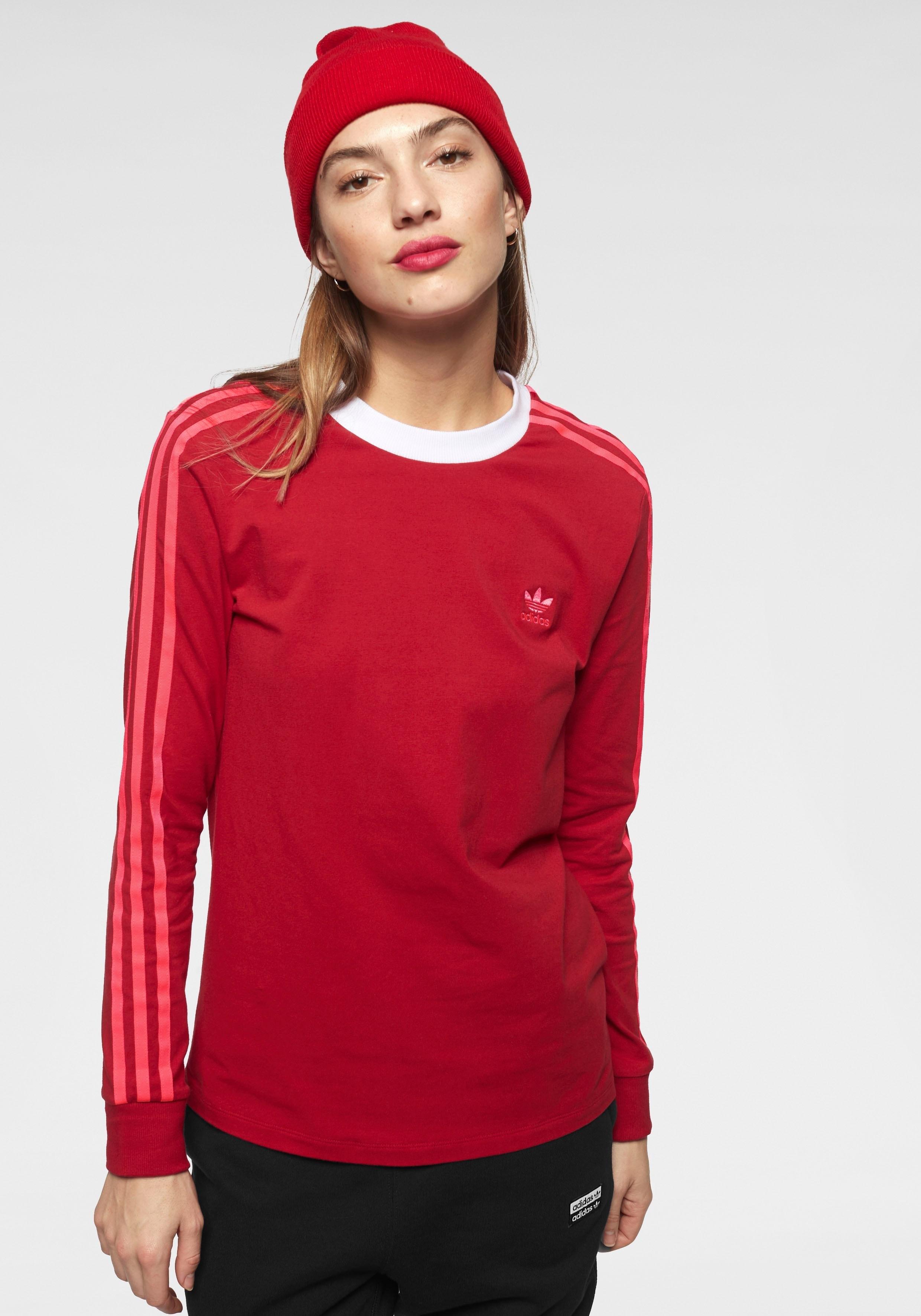 adidas Originals shirt met lange mouwen »3 STRIPES LONGSLEEVE TEE« in de webshop van OTTO kopen