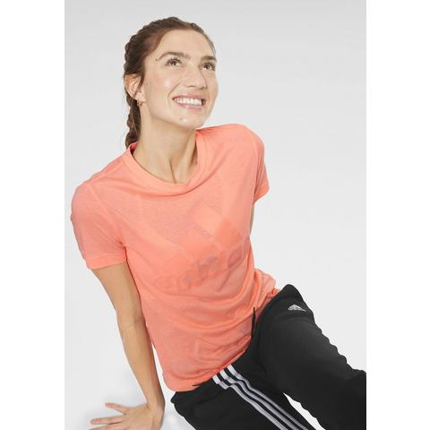 adidas Women's Must Haves Badge of Sport Tee Hardloopshirts (korte mouwen)
