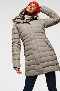 icepeak doorgestikte jas »anamosa« bruin