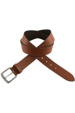 bovino belts leren riem bruin