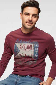 rhode island shirt met lange mouwen rood