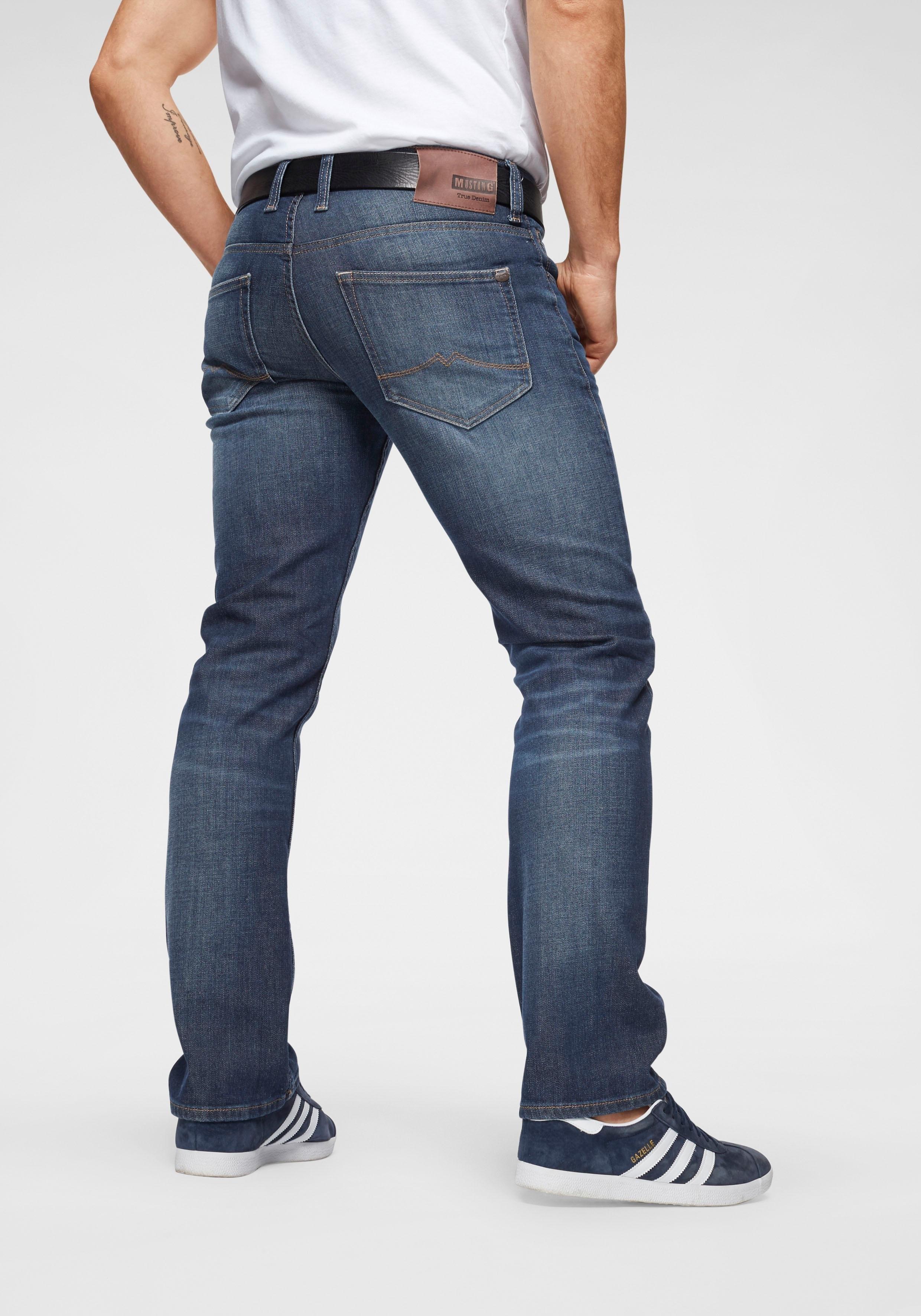 MUSTANG straight jeans »OREGON« voordelig en veilig online kopen