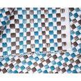otto products vloerkleed babetta van 100% gerecycled garen, woonkamer blauw