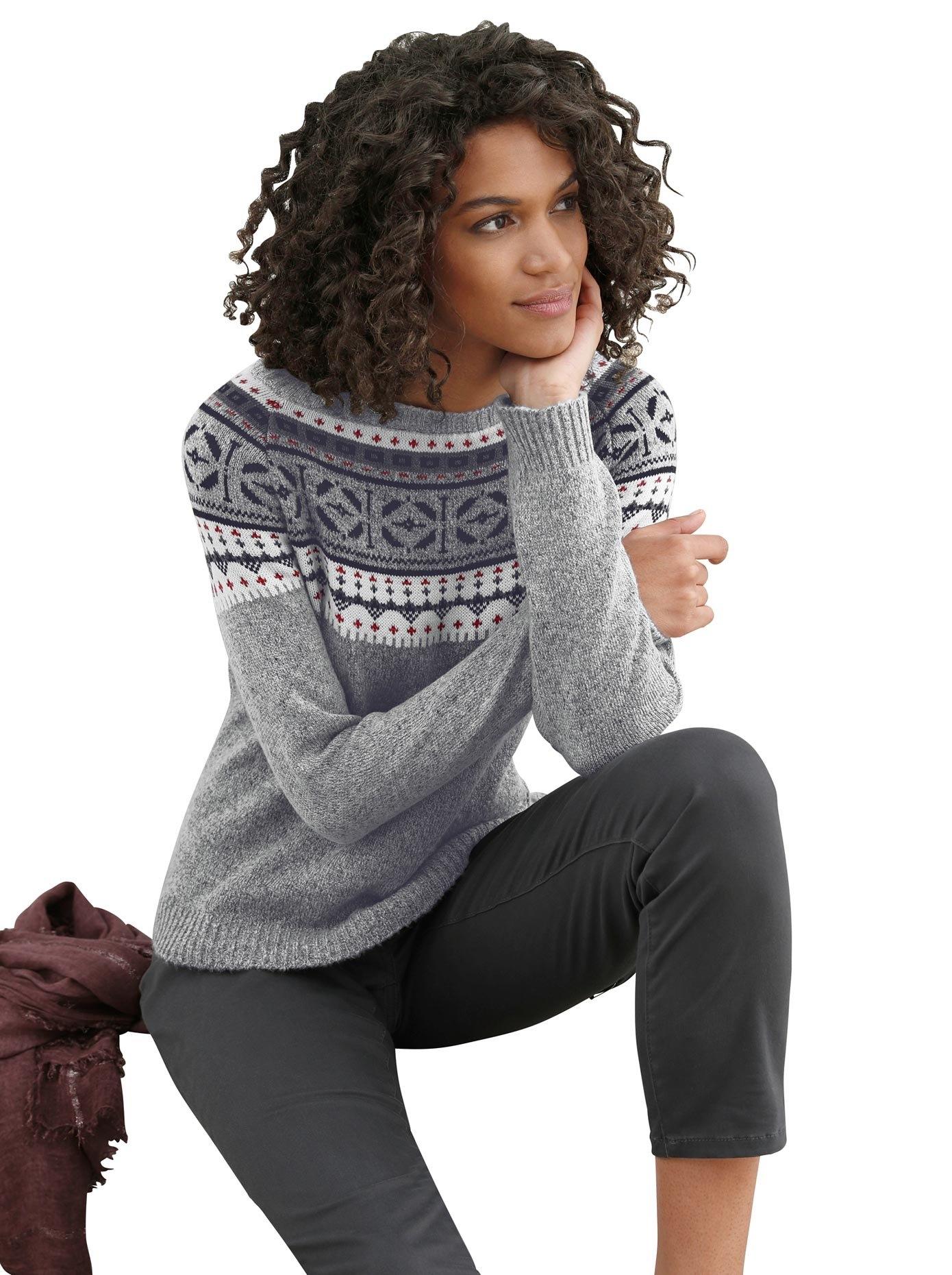 Casual Looks noorse trui Trui nu online bestellen