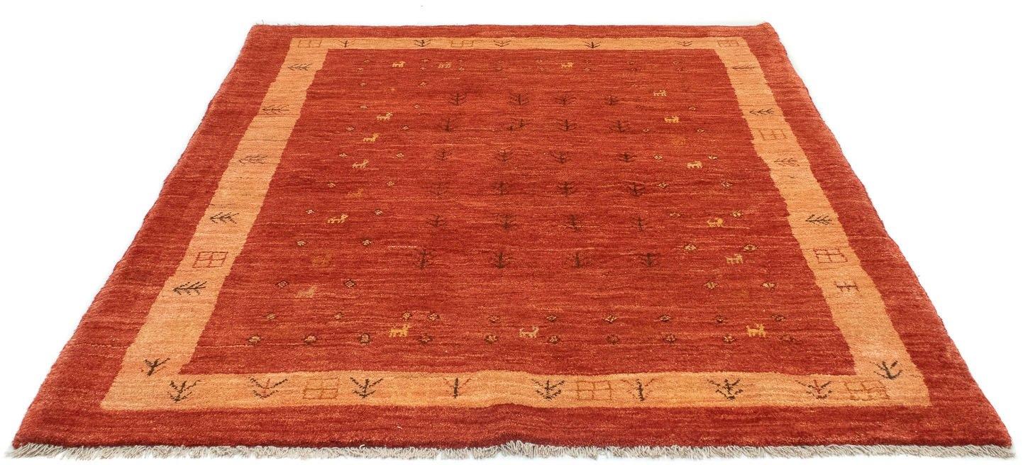 morgenland wollen kleed Loribaft Teppich handgeknüpft rot handgeknoopt goedkoop op otto.nl kopen