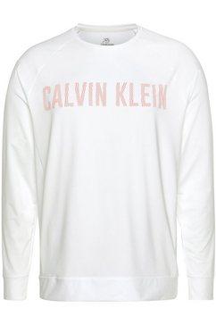 calvin klein performance longsleeve wit