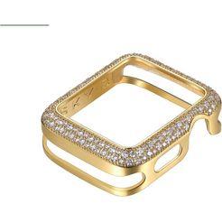 sky•b smartwatch-afdekking soda pop, w009g42, 42 mm goud