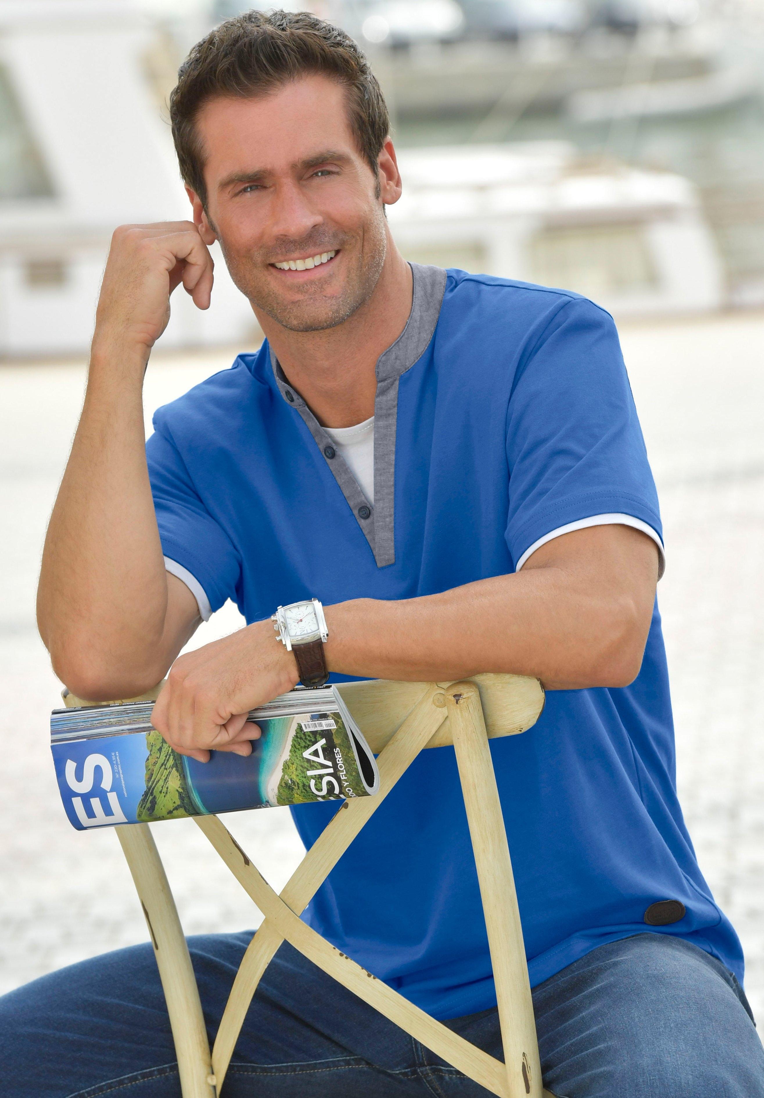 Marco Donati Classic shirt met korte mouwen van katoen - verschillende betaalmethodes
