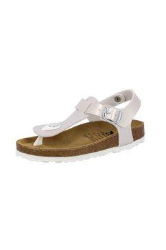 lico slippers »zehenstegpantolette bioline look« zilver