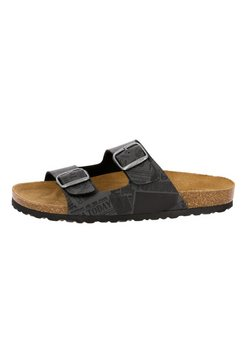 lico slippers »slippers bioline print« zwart