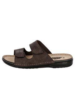 lico slippers »comfortslippers sanremo - bruin« bruin