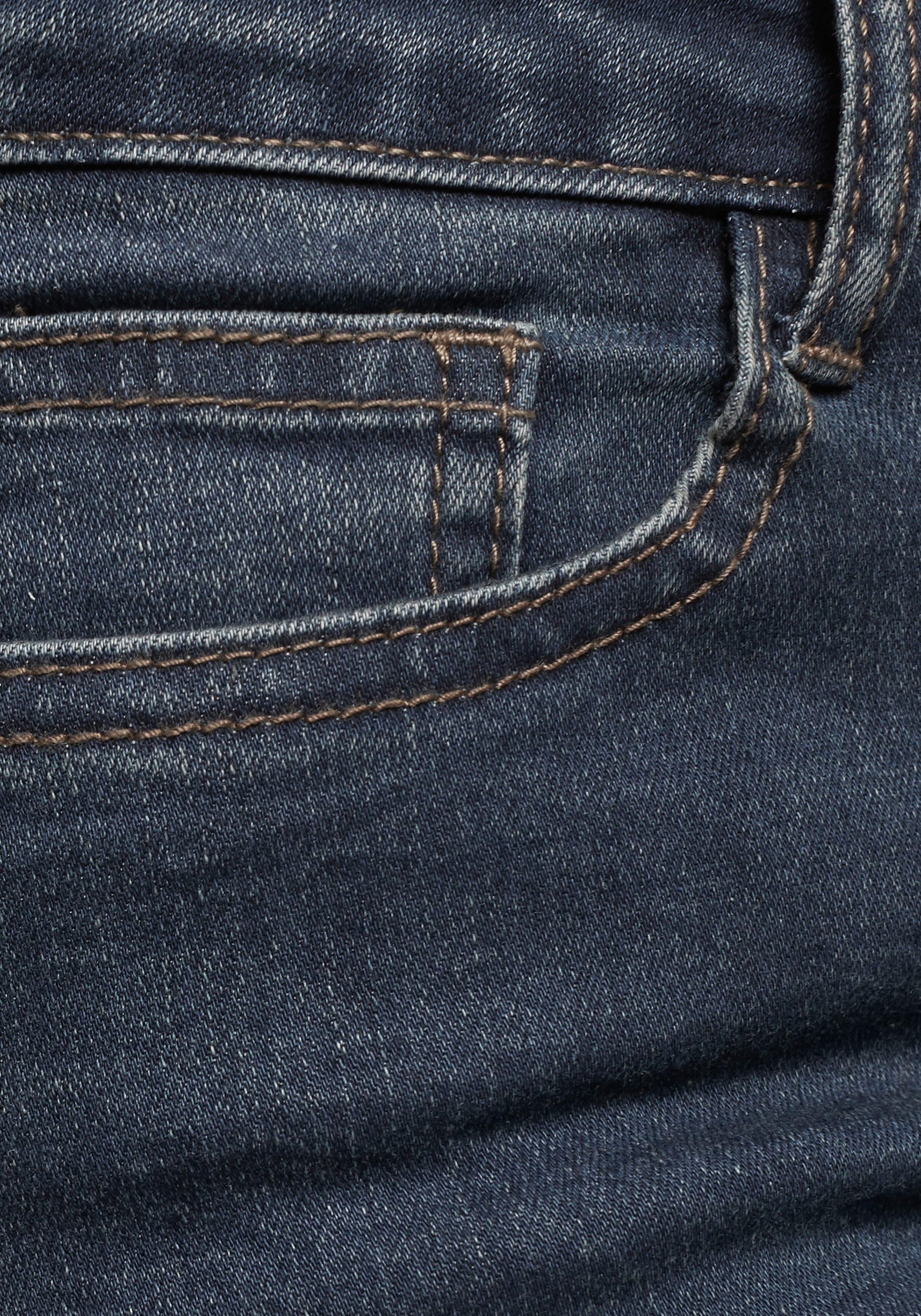 Regular fit jeans, straight, lengte (inch) 34