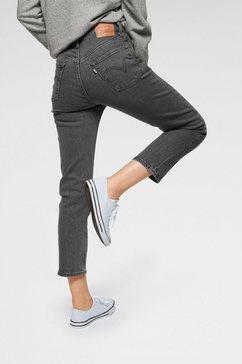 levi's 7-8 jeans »501 croped« grijs