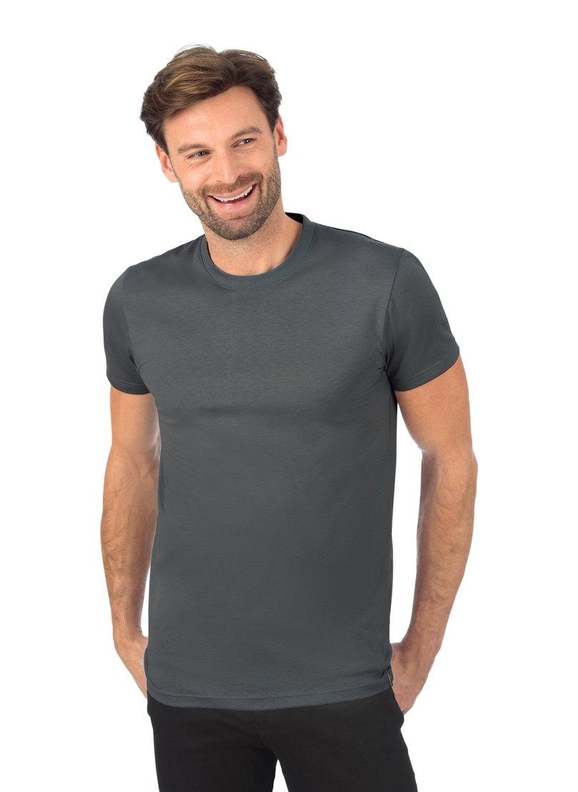 Trigema Slim-fit T-shirt van DELUXE-katoen in de webshop van OTTO kopen