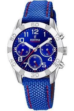 festina chronograaf »junior collection, f20346-2« blauw