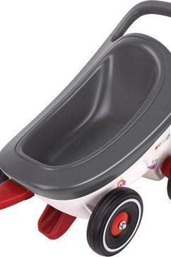 big aanhanger voor speelgoedauto 'big buggy 3-in-1' grijs