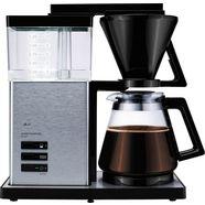 melitta filterkoffiezetapparaat aroma signature deluxe 100702, koffiekan 1,2 l, papieren filter 1x4 zwart