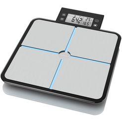 medisana lichaamsanalyseweegschaal 'bs 460' grijs