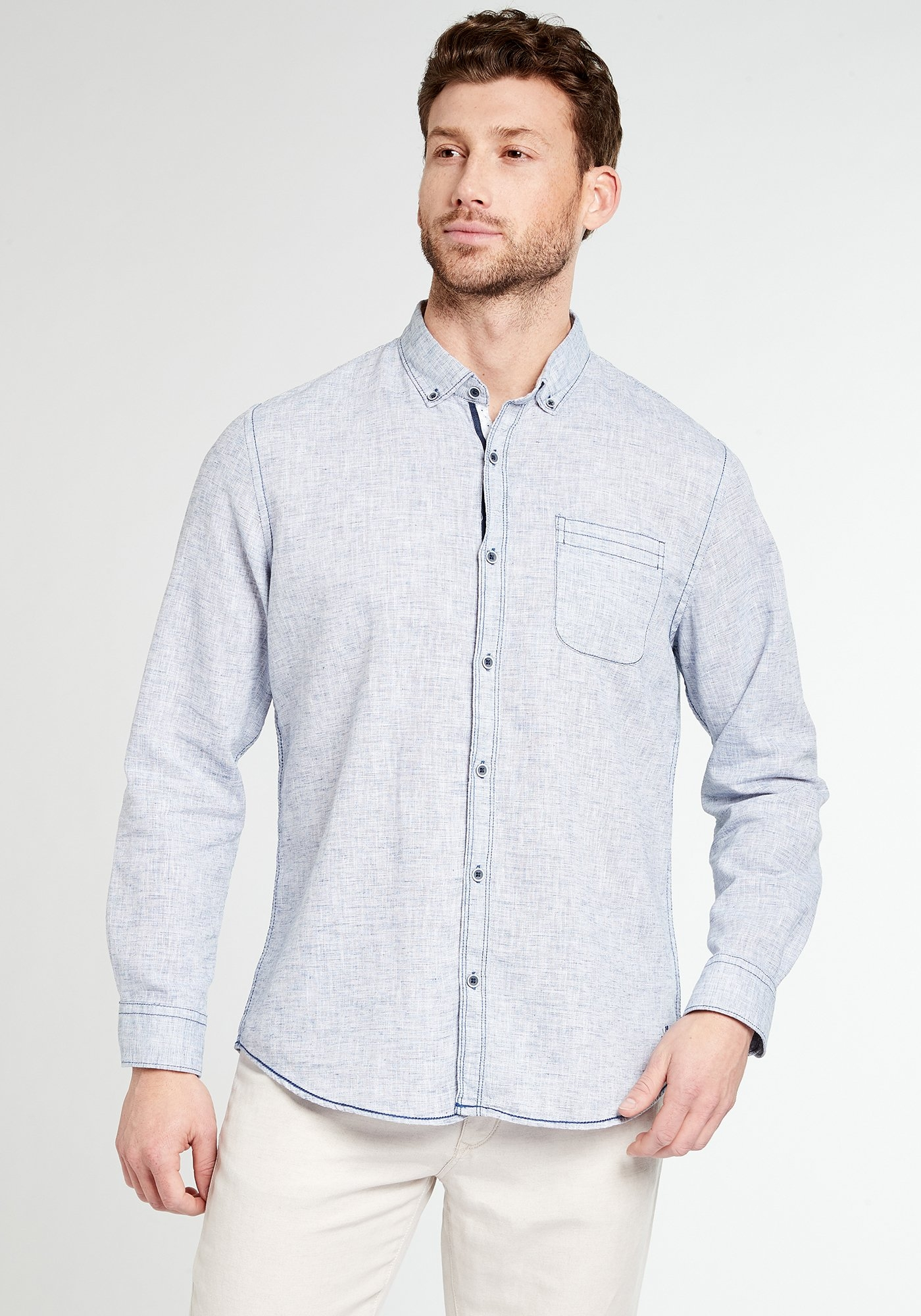 Heren Overhemd Casual.Pioneer Herenoverhemd Herenoverhemd Shirt Makkelijk Gevonden Otto