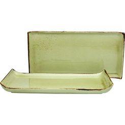 creatable serveerblad nature collection (1-delig) beige