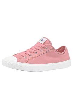 converse sneakers »chuck taylor all star dainty gs rainbow« roze