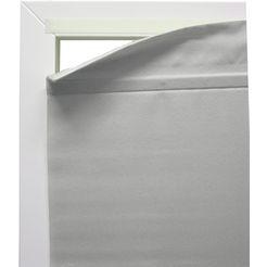 vouwgordijn »easyfix vouwgordijn magnetisch«, gardinia, met klittenband, zonder boren, vrijhangend grijs
