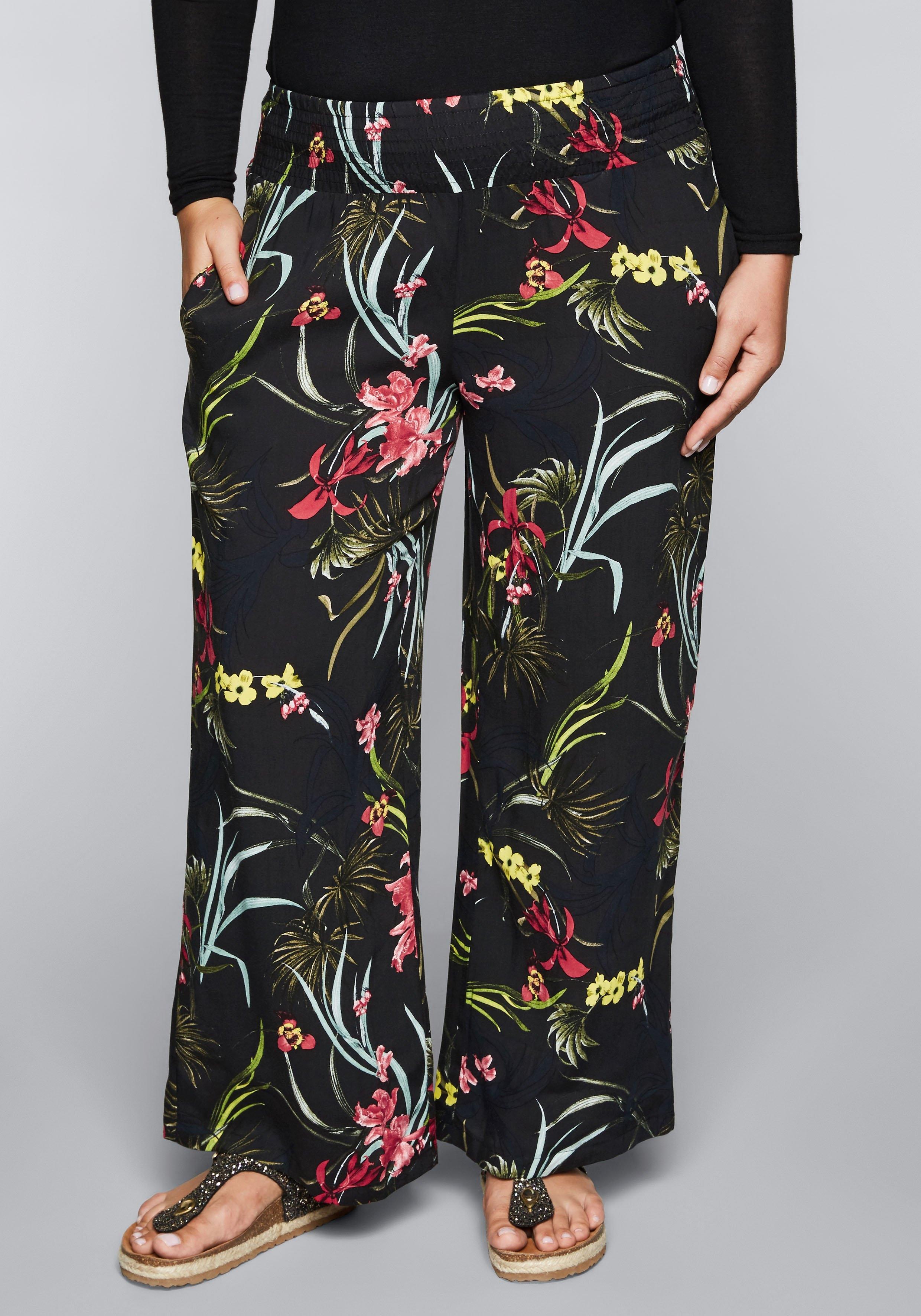 Sheego comfortbroek met smokband en zakken in de webshop van OTTO kopen