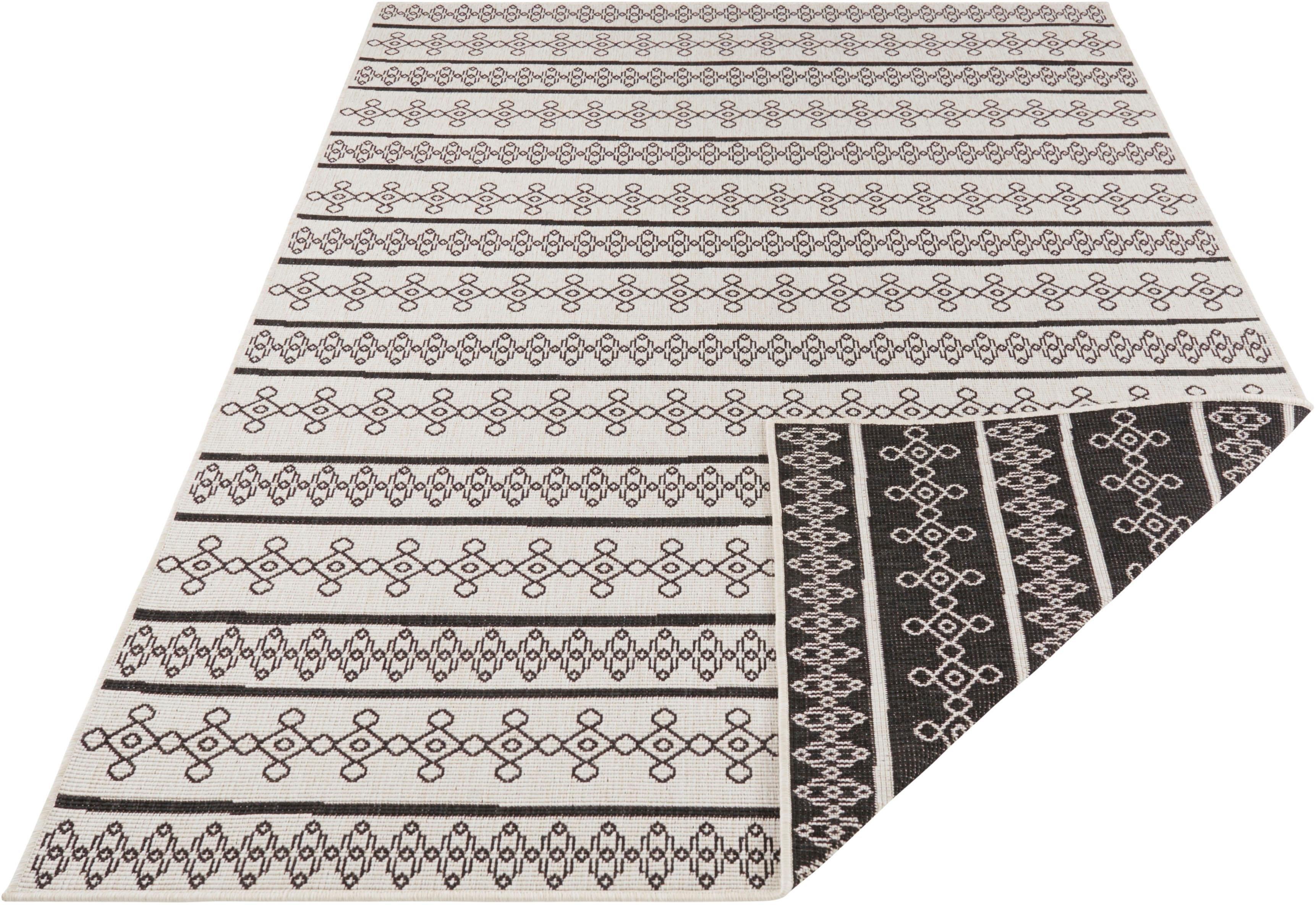 bougari Tapijt, »Madeira«, rechthoekig, hoogte 5 mm, machinaal geweven nu online kopen bij OTTO