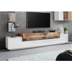 tecnos tv-meubel »corona«, breedte 240 cm beige