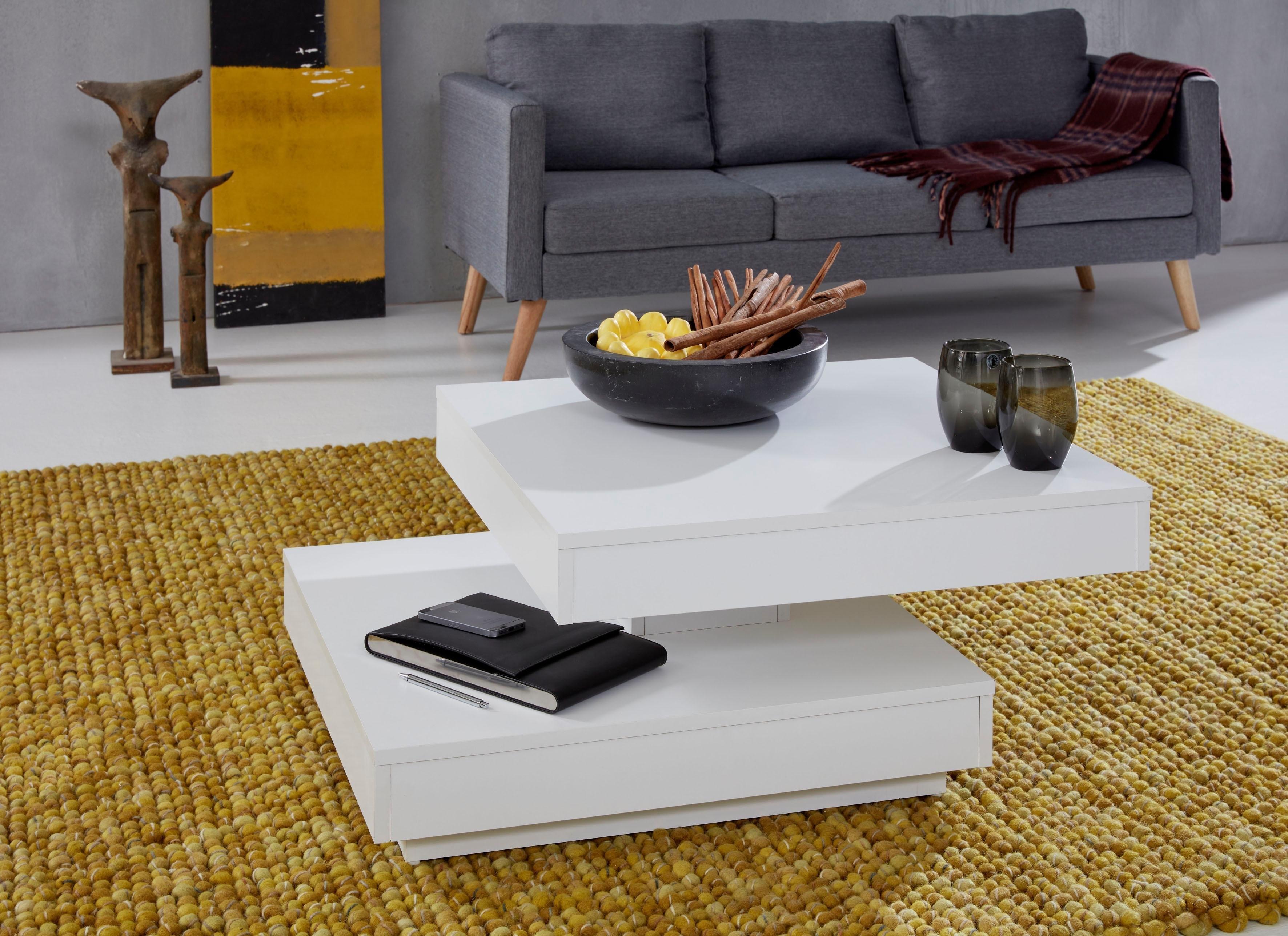 trendteam salontafel met functie, draaibaar tafelblad in de webshop van OTTO kopen