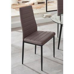 stoel »sandy« (set van 2 of 4) beige